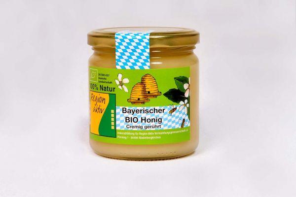 Bayerischer BIO Honig cremig 500g