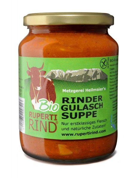 Bio Rinder-Gulaschsupppe 400ml