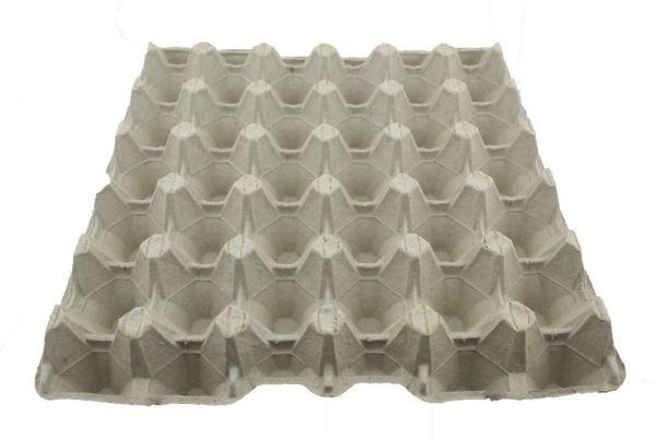 1 Stück 30er Höckerlage / Eierpappe Größe L stabil grau
