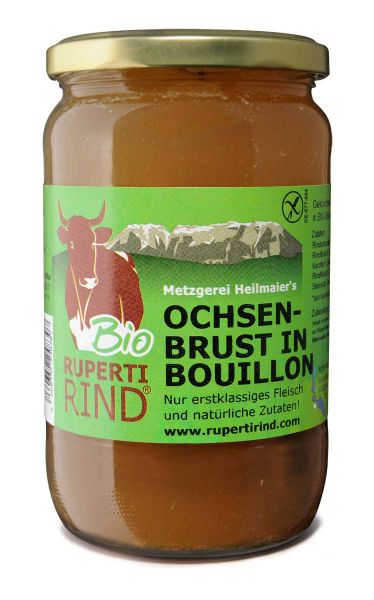 Ochsenbrust in Bouillon 690ml