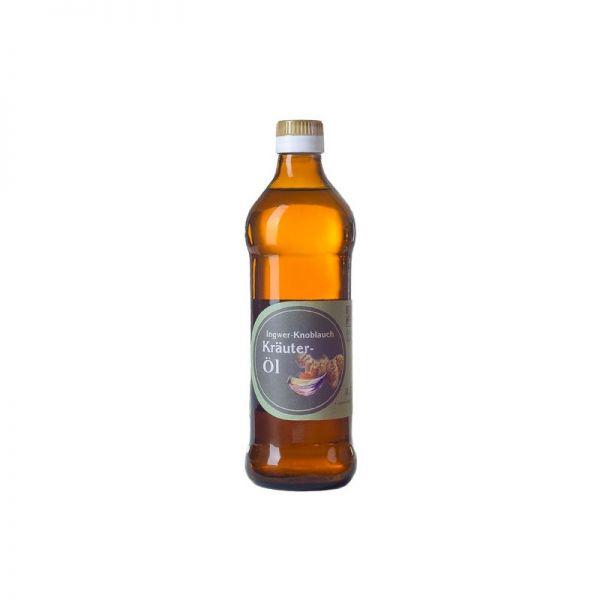 Ingwer-Knoblauch-Kräuteröl, kaltgepresst 0,25l