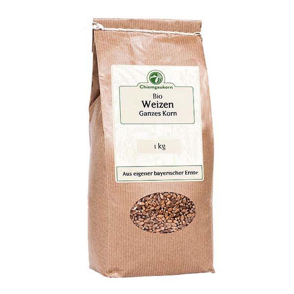 Bio-Weizen ganzes Korn 1kg