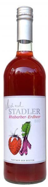 Bio Rhabarber-Erbeer Nektar