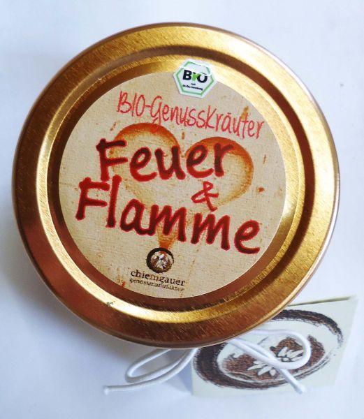 """BIO Kräutermischung """"Feuer&Flamme"""" im Glas 50g"""