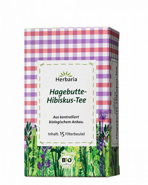 Bio Hagebutte-Hibiskus-Tee
