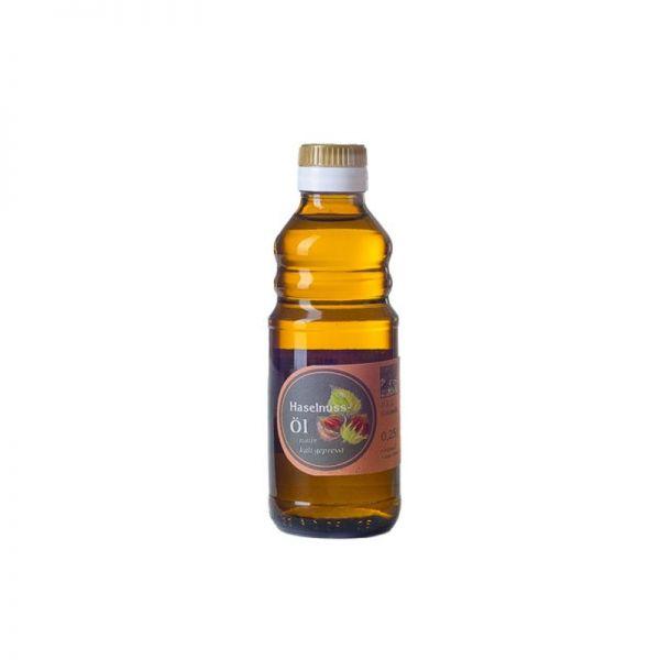 Haselnussöl, kaltgepresst und nativ 0,25l