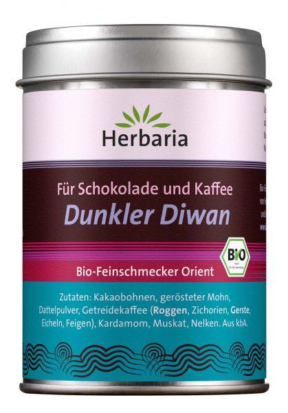 """Bio Gewürzmischung """"Dunkler Diwan"""" für Kaffe und Schokoladen"""