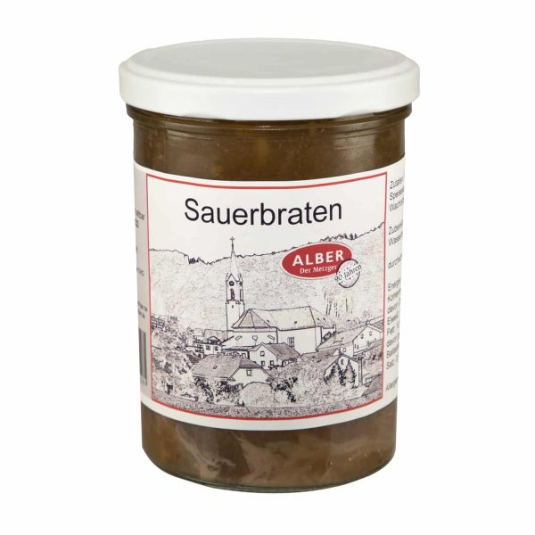 Sauerbraten 400g im Glas