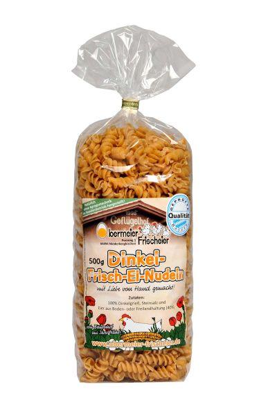 Dinkel-Frisch-Ei-Nudeln Spirelli