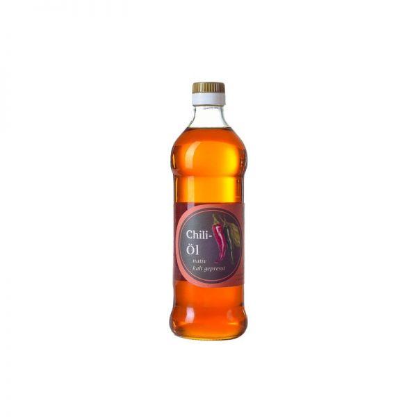 Chili-Kräuteröl, nativ & scharf 0,25l