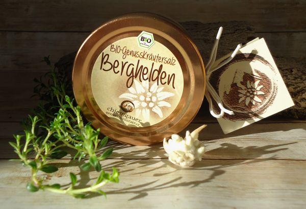 """BIO Kräutersalz """"Berghelden"""" im Schmuckglas 100g"""